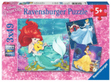 Princesses Adventures - 3 x 49 Pieces