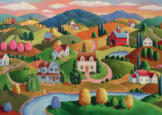 Rolling Hills 300pc Large Format Puzzle