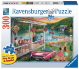 Summer at the Lake 300pc Large Format Puzzle