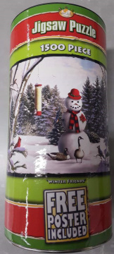 Winter Friends 1500PCS Tube With Poster