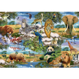 Animals of the World 1000 piece puzzle