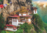 Tiger Nest Bhutan 2000 piece puzzle