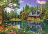 Afternoon Idyll 4000 Piece Puzzle