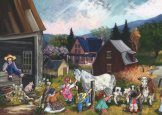 At The Farm- Paquin 1000 piece puzzle