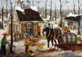 The Sugar Shack- Genest 1000 Piece Puzzle