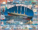 Great Shipwrecks 1000 Pieces