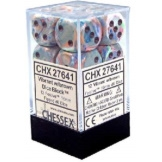 Chessex Dice 12D6 Festive Vibrant/Brown 16MM
