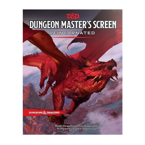 D&D 5th Ed. DM Screen Reincarnated