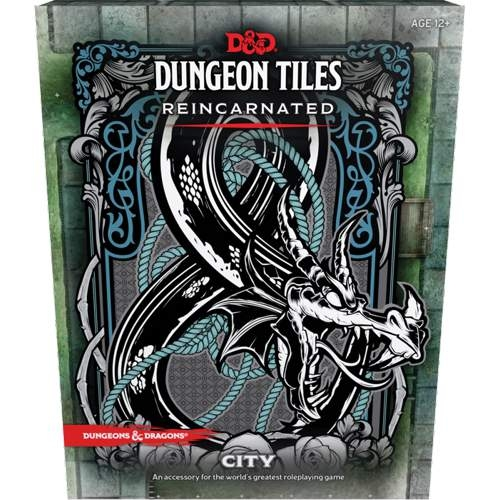 D&D 5th Ed. Dungeon Tiles Reincarnated City