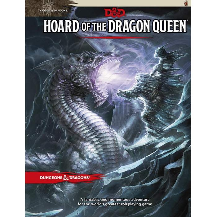 D&D 5th Ed. Tyranny of Dragons #1 Hoard of the Dragon Queen
