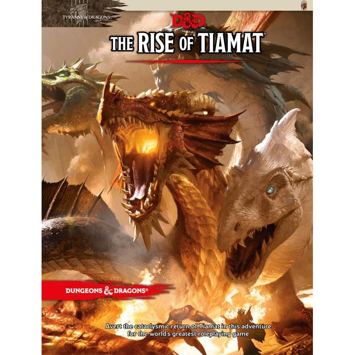 D&D 5th Ed. Tyranny of Dragons #2 Rise of Tiamat