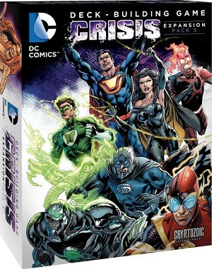 DC Deck Building Game Crisis Pack #3