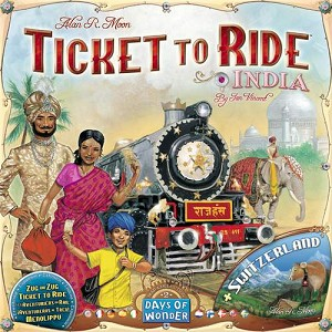 Ticket To Ride India/Swiss
