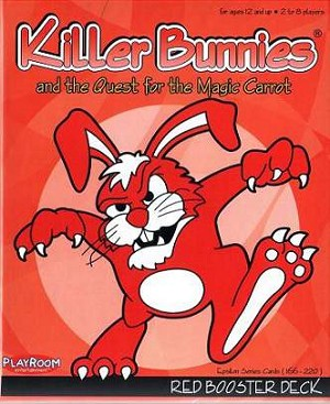 Killer Bunnies Quest For The Magic Carrot Red Booster