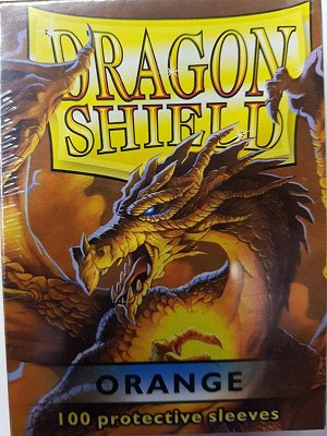 Dragon Shield Sleeves Orange 100ct