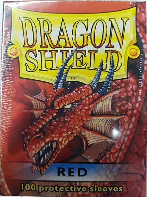 Dragon Shield Sleeves Red 100ct