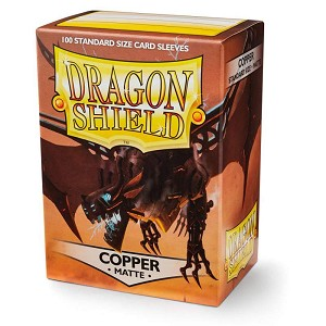 Dragon Shield Sleeves Matte Copper 100ct
