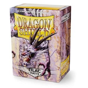 Dragon Shield Sleeves Matte Lilac 100ct