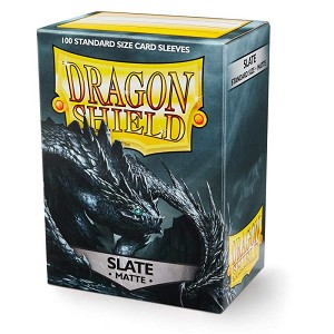 Dragon Shield Sleeves Matte Slate 100ct