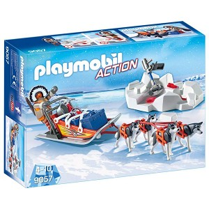 Playmobil Arctic Husky Drawn Sled