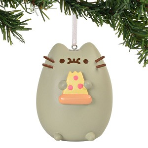 I love Pizza Pusheen Ornament