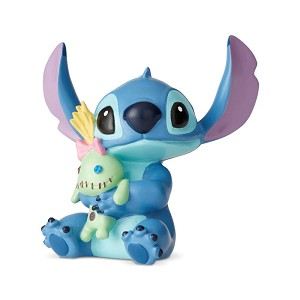 Stitch with Doll Mini Figure