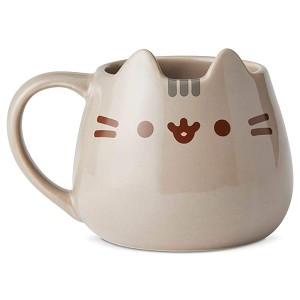 Pusheen Sculpted Mug 16 oz