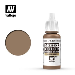 Vallejo Model Color Beige Brown 17ml