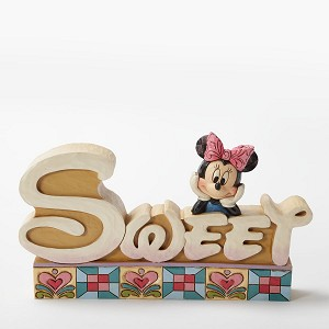 Minnie Sweet Word Plaque