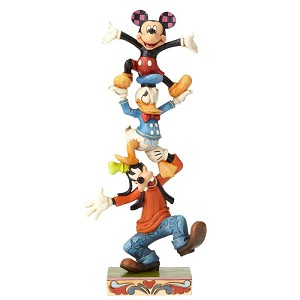 Teetering Tower - Goofy, Donald, Mickey