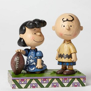 Football Lucy & Charlie Brown