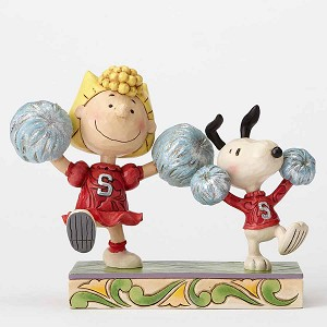 Cheerleading Snoopy & Sally