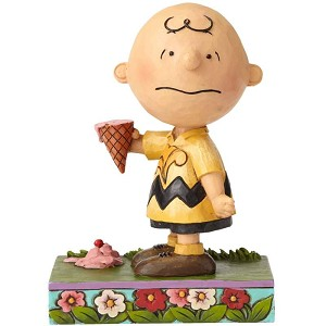 Charlie Brown with Ice Cream