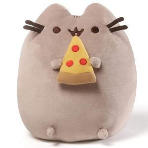 Pusheen Pizza Plush 9.5""