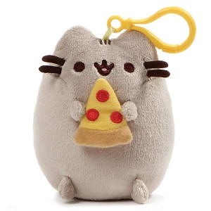 "Pusheen Pizza 5"" - Backpack Clip"