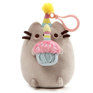 "Pusheen Birthday 5"" - Backpack Clip"