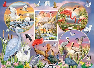 Waterbird Magic 1000 piece puzzle