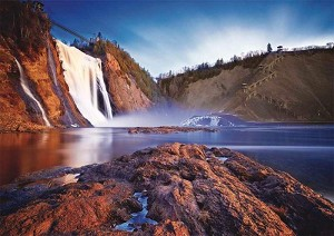 Montmorency Falls 1000 Piece Puzzle