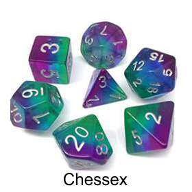 RPG Dice Sets By Chessex