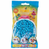 Hama Beads 1000pc Bag Azure Blue