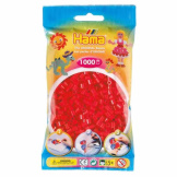 Hama Beads 1000pc Bag Red
