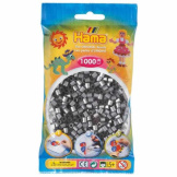 Hama Beads 1000pc Bag Silver