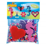 Hama Beads 3000pc + Peg Board Group Pack B