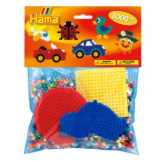 Hama Beads 3000pc + Peg Board Group Pack C