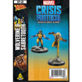 Marvel Crisis Protocol X-Men Wolverine And Sabertooth