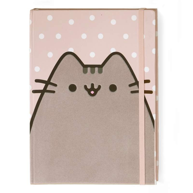 Pusheen Polka Dot Journal