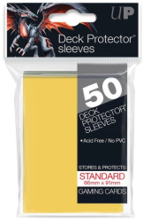 Ultra Pro Deck Protectors Standard Canary Yellow 50CT