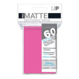 Ultra Pro Deck Protectors Small Matte Pink 60CT
