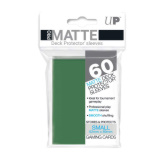 Ultra Pro Deck Protectors Small Matte Green 60CT