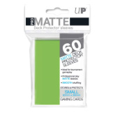 Ultra Pro Deck Protectors Small Matte Lime Green 60CT
